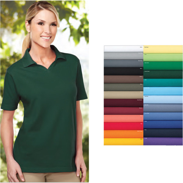 Imprinted Newport - Women's Short Sleeve Golf Shirt