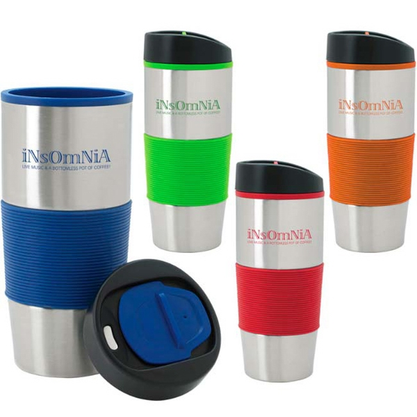 Custom Color Grip Tumbler - 18 oz