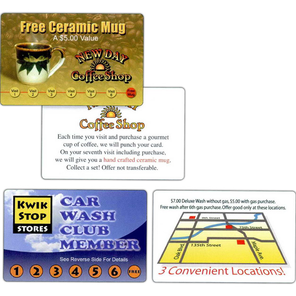 Customized Full-Color Loyalty Card