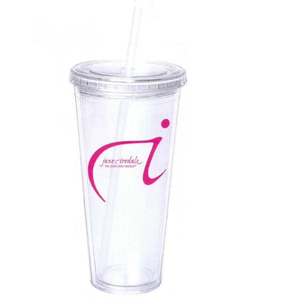 Custom 24 oz. Acrylic Double Wall Tumbler