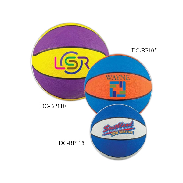 "Customized 10"" Regulation Size Custom Basketball"