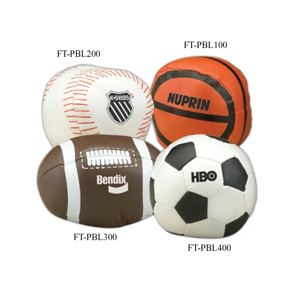 "Promotional 4"" polyfill vinyl football"