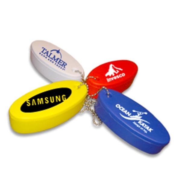 Personalized Neon floating key fob key chain