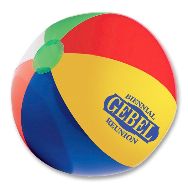 "Custom 12"" beach ball"