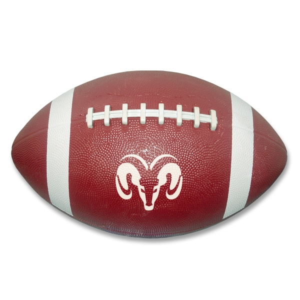 "Custom 11"" Genuine rubber football"