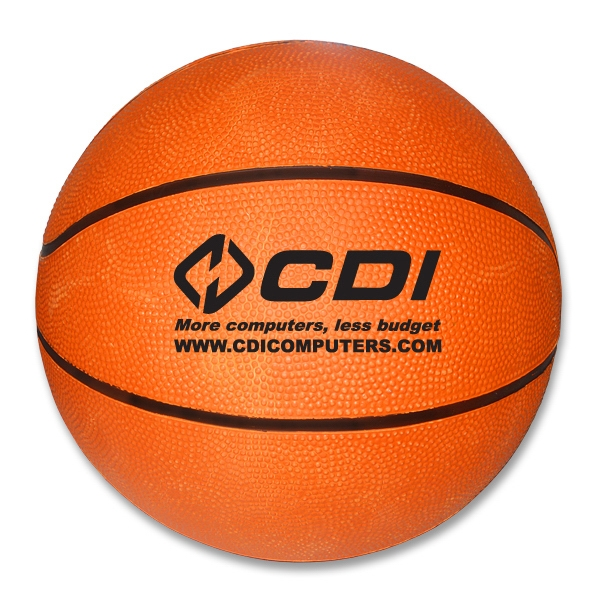 "Promotional 10"" Regulation size basketball"
