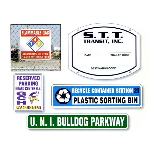 Promotional Custom Polyethylene Sign