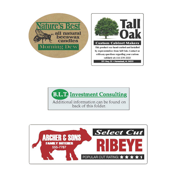Promotional Specialty Material Roll Labels