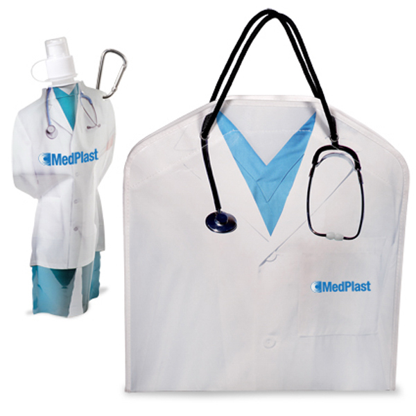 Customized Doctor Tote and Flexi-Bottle Combo