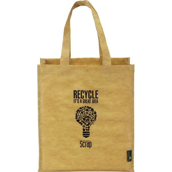 Promotional Matte Laminated Grocers Brown Bag