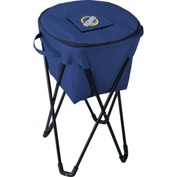 Custom Game Day Standing Tub Cooler