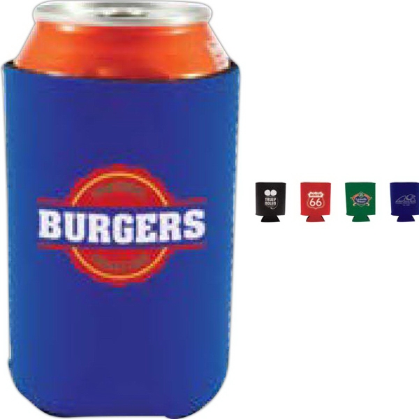 Personalized Collapsible Neoprene Can Cooler