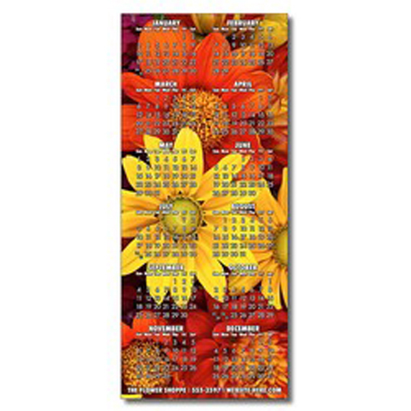 """Promotional Magnet, 3.25"""" x 7.5"""" square corners, 25 mil"""