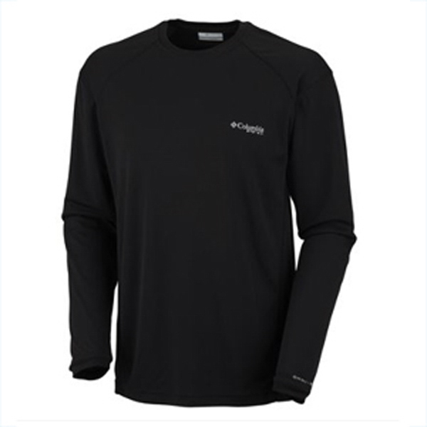 Imprinted Columbia (R) Skiff Guide III Long Sleeve