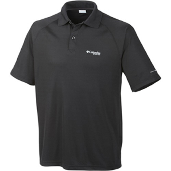 Personalized Columbia (R) Terminal Tackle Short Sleeve Polo