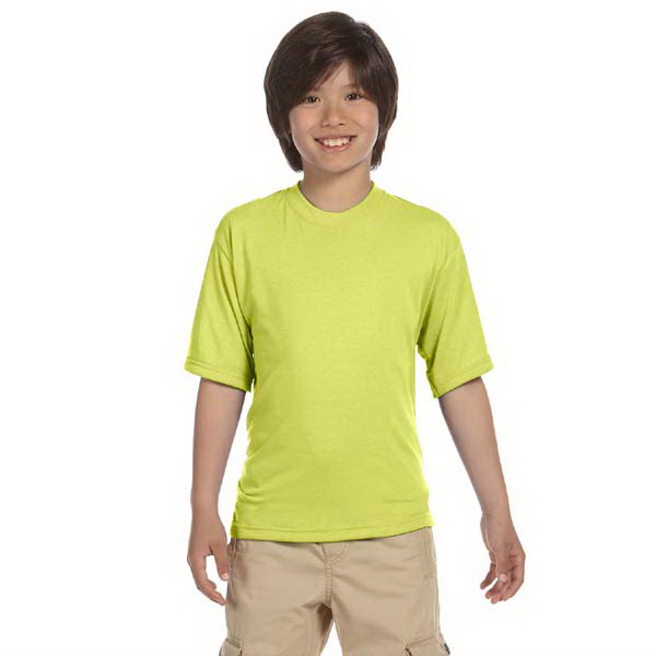 Promotional Jerzees (R) Youth 5.3 oz. 100% Polyester Crew T-Shirt
