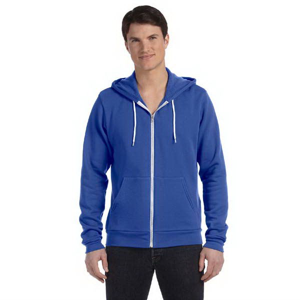 Promotional Bella & Canvas Unisex Poly-Cotton Fleece Full-Zip Hoodie