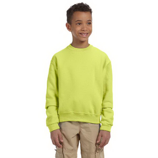 Custom Youth 8 oz. NuBlend (TM) 50/50 Fleece Crew