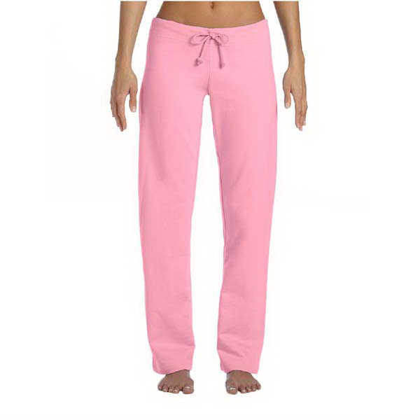 Printed Bella & Canvas Ladies' Fleece Straight Leg Sweatpants