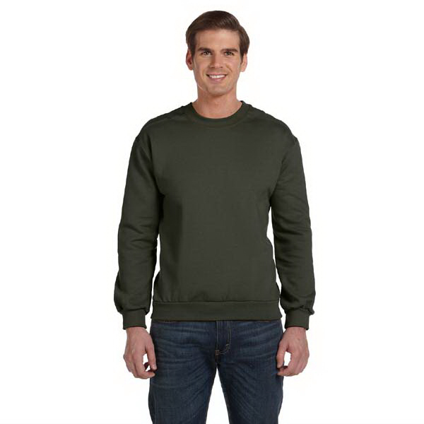 Imprinted Anvil Adult 7.2 oz. Combed Ringspun Fashion Fleece Crew