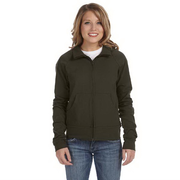 Printed Bella & Canvas Ladies' Cotton/Spandex Cadet Jacket