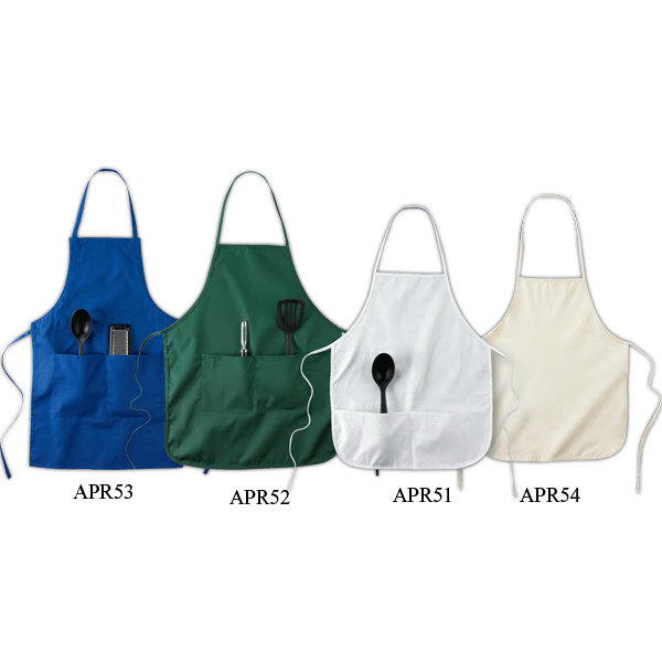"Personalized Two Pocket 28"" Apron"