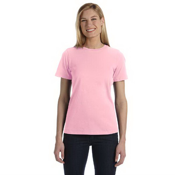 Promotional Bella & Canvas Ladies' Missy Jersey Short Sleeve T-Shirt