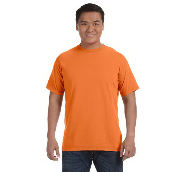 Imprinted Comfort Colors Men's 6.1 oz. Ringspun Garment Dyed T-Shirt