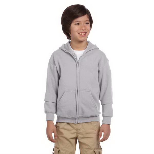 Personalized Youth 7.75 oz. Heavy Blend (TM) Full Zip Hood