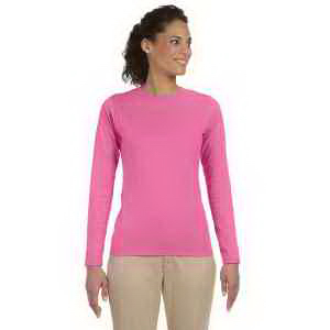 Promotional Ladies' 4.5 oz SoftStyle Junior Fit Long-Sleeve T-Shirt