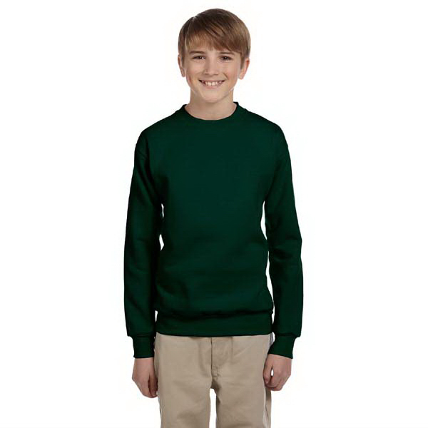Imprinted Youth 7.8 oz. ComfortBlend(R) EcoSmart(TM) 50/50 Fleece Crew