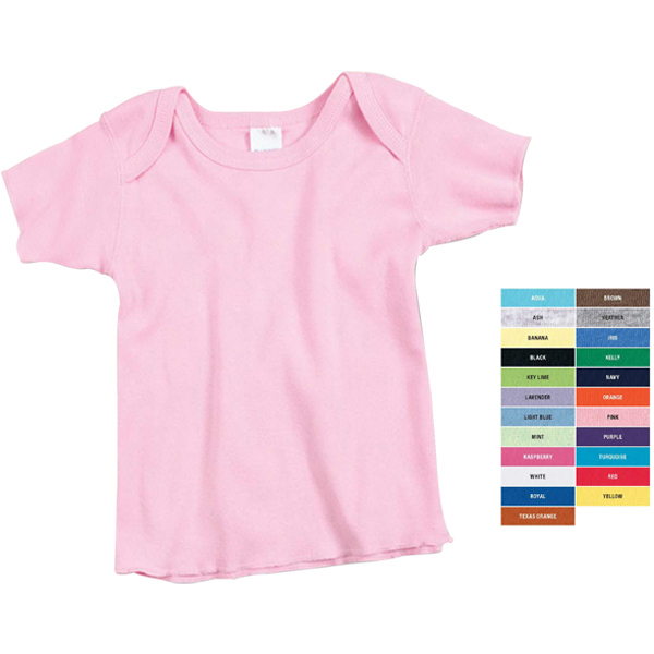 Custom Infant 5 oz. Lap Shoulder t-shirt