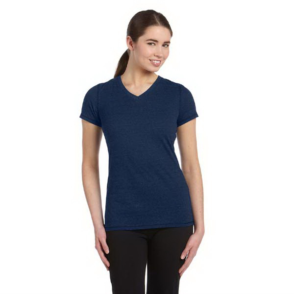 Promotional Alo Ladies' Performance Triblend Short Sleeve V-NeckT Shirt