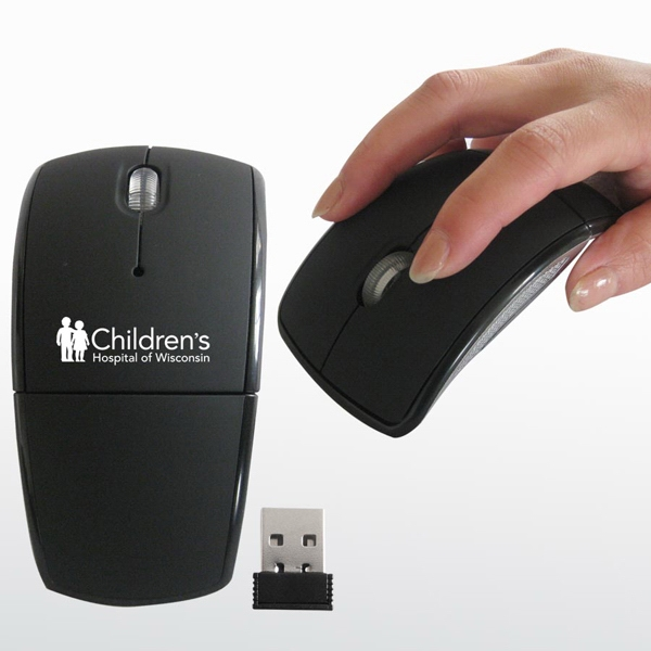 Personalized Wireless Folding Mouse I