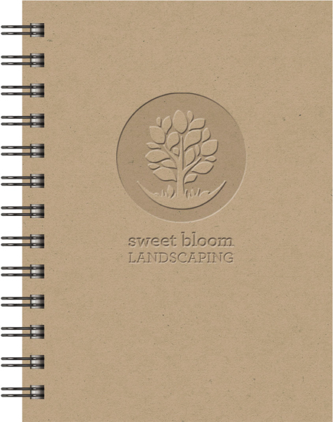 Customized EcoBooks (TM) Small EcoNotes Notebook
