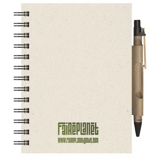 Personalized EcoBooks (TM)  Small EcoNotes with EcoPort Notebook