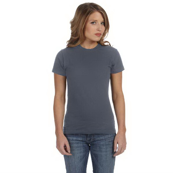 Customized Bella & Canvas Ladies' Cotton/Spandex Short Sleeve T-Shirt