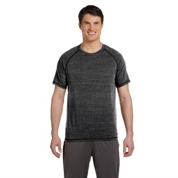 Custom Alo Men's Performance Triblend Short Sleeve T Shirt