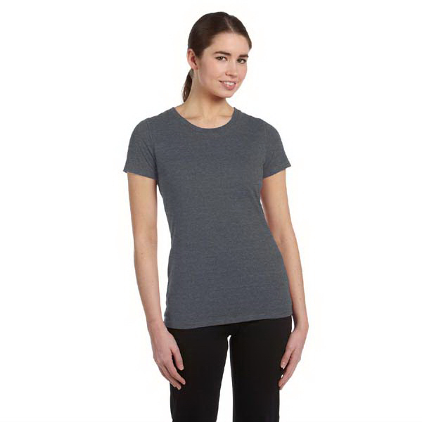 Printed Alo Ladies' Performance Triblend Short Sleeve T Shirt