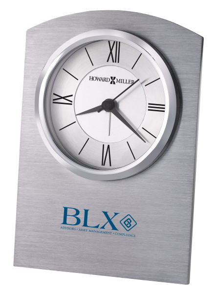 Custom Sterling Alarm Clock