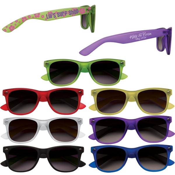Printed Soft Touch Sunglasses