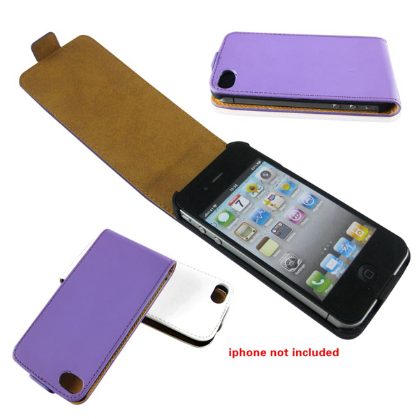 Custom Leather Case Cover for iPhone 4, iPhone4s