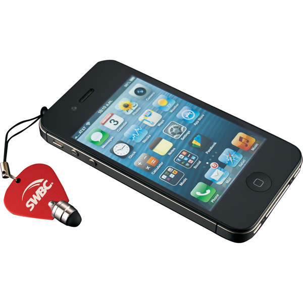 Promotional Guitar Pick Mobile Stylus by Woodees
