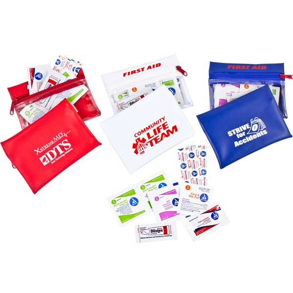Imprinted Health & Wellness First Aid Kit