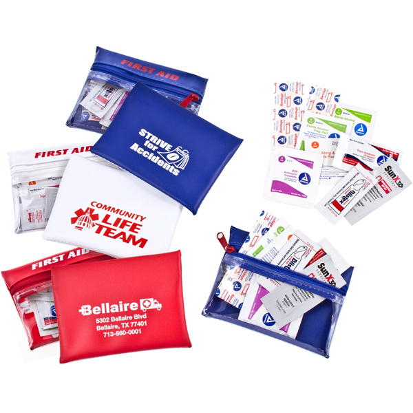 Customized Traveling Companion First Aid Kit