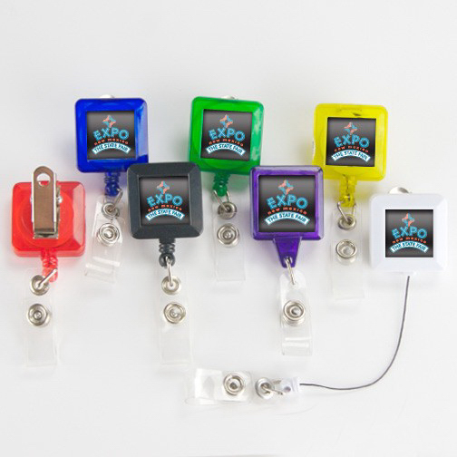 Customized Square Badge Holder