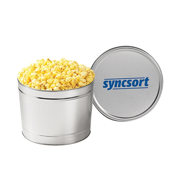 Custom Classic Popcorn Tin / 1.5 Gallon