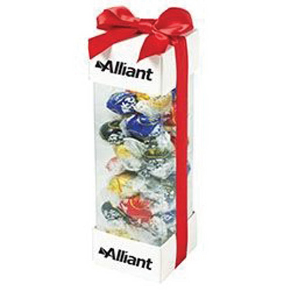 Personalized Executive Treat Container / Foil Wrapped Hard Candy