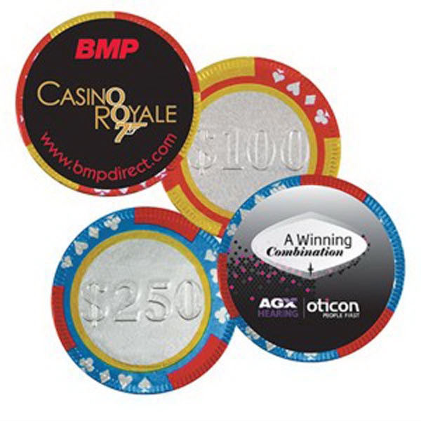 Personalized Chocolate Poker Chips