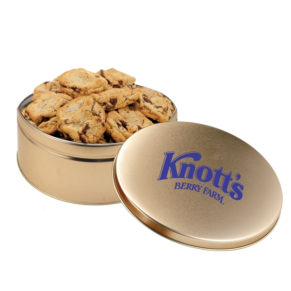 Personalized Gourment Cookie Tin/Extra Large Cookies